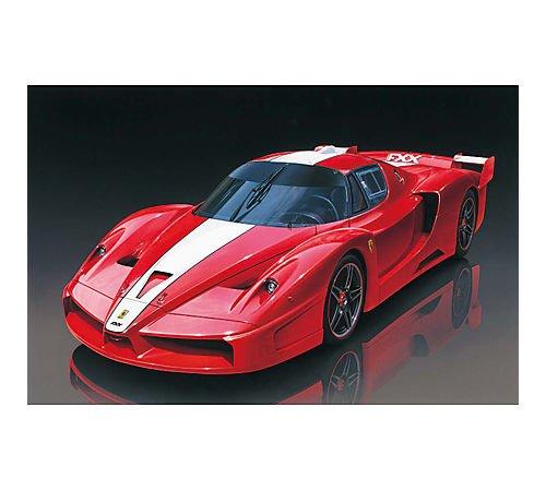 TAMIYA 300024292 1:24 Ferrari FXX 2005 Race, originalgetreue Nachbildung, Modellbau, Plastik Bausatz, Basteln, Hobby, Kleben, Plastikbausatz, Zusammenbauen, unlackiert