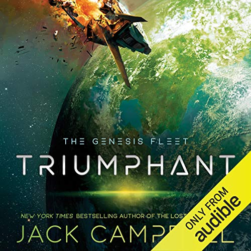 Triumphant audiobook cover art