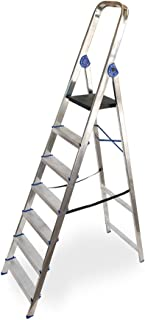 Escalera domestica de aluminio Altipesa (Aluminio, 7 PELDAÑ