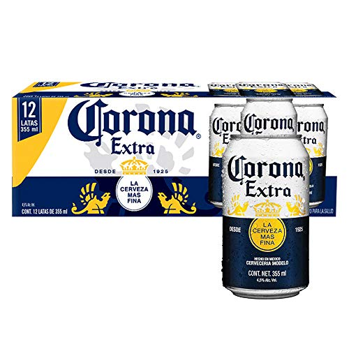 Cerveza Corona Bote Extra 2 12pack - total 24 latas de 355ml c/u
