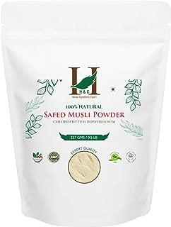 Best organic safed musli powder Reviews