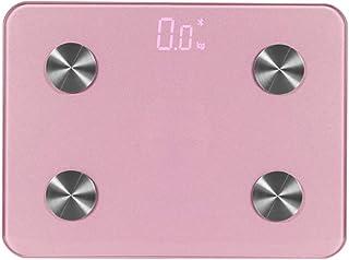 LINLIN Báscula de Grasa Corporal Bluetooth Premium Básculas de baño Digitales de Alta precisión y báscula Inteligente a través de Bluetooth o Wi-Fi BIM, báscula, Báscula,Rosado,270 * 200cm