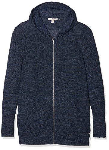 Esprit Maternity Cardigan Sweat Lounge ls Haut de Pyjama de Maternité, Bleu (Night Blue 486), 44 (Taille du Fabricant:X-Large) Femme