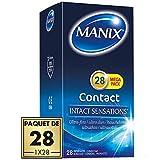 Préservatifs MANIX CONTACT Ultra Fin - Maxi Pack de 28