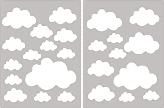 Amazon.fr : stickers nuage - Blanc