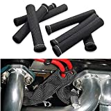SHINEHOME Car 1200 Degree Spark Plug Wire Boots Heat Shield Protector Sleeve Cover Compatible with SBC BBC 350 454 8PCS