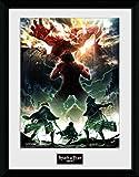 GB Eye Attack on Titan Season 2, Key Art Kunstdruck,