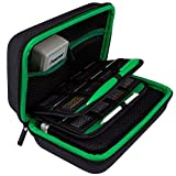 TAKECASE New 3DS XL and 2DS XL Carrying Case - Fits Wall Charger - Includes XL Stylus, 16 Game Storage, Hard...