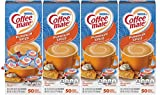 Nestle Coffee mate Coffee Creamer, Pumpkin Spice, Liquid Creamer Singles, Box of 50 Singles (Pack of 4)