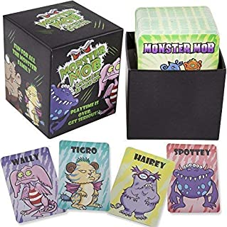 !! MONSTER MOB !!, The CARD GAME for all the MONSTER FAMILY.
