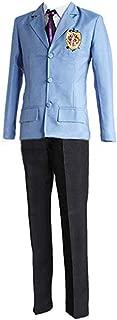 Ouran High School Host Club Cosplay King Costume Boy School Uniform Blazer Pants Full Set