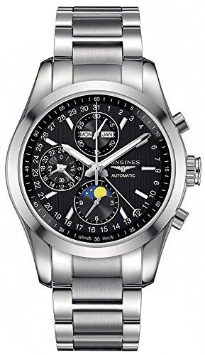 LONGINES - Herrenuhr Automatik Stahl Chronograph Mondphase - Conquest Classic L27984526