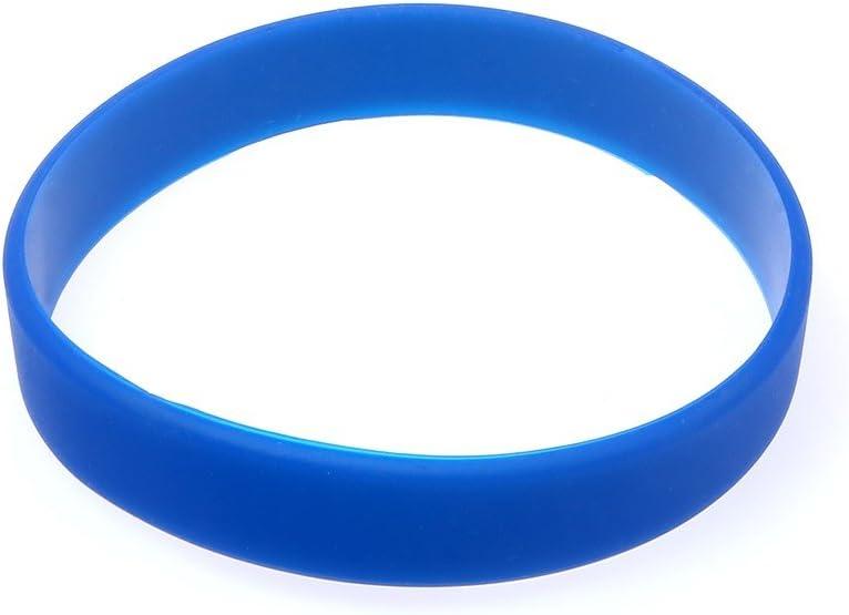 Distinct/® 1 pcs Caoutchouc de Silicone Hommes et Femmes Bracelet Sport Bracelet de Basket-Ball