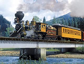 Springbok Puzzles - Durango Express - 500 Piece Jigsaw Puzzle - Large 18 Inches by 23.5 Inches Puzzle - Made in USA - Unique Cut Interlocking Pieces