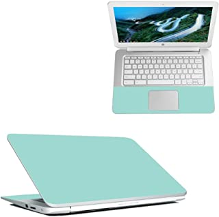 "Mightyskins Skin Compatible with Hp Chromebook 14"" (2018) - Solid Seafoam 