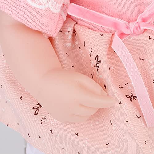 Wosune Muñecas recién Nacidas, Muñecas vívidas gratuitas y seguras para la Tienda de Juguetes para la educación temprana(42CM Car Hair Doll)