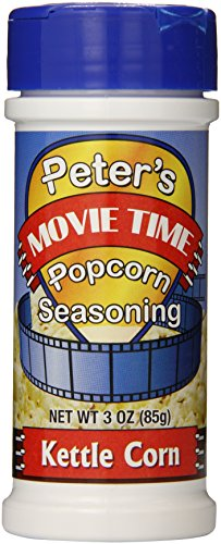 Buy Discount Peter's Movie Time Popcorn Seasoning Kettle Corn, 3 Ounce (Pack of 18)