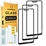 [3-Pack]-Mr.Shield for Xiaomi Mi 8 Lite [Japan Tempered Glass] [9H Hardness] [Full Screen Glue Cover] Screen Protector with Lifetime Replacement