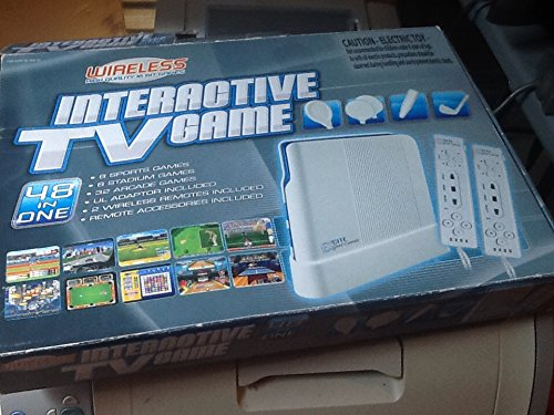 Interactive TV Game 48 in One