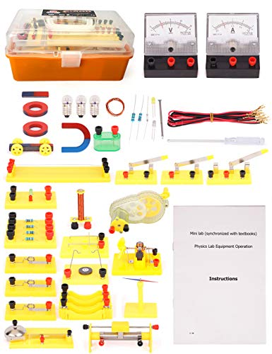 Physics Science Lab Basic Circuits kit for Junior/Senior High School Students, Stem Christmas Toys for Kids 13 Years Old