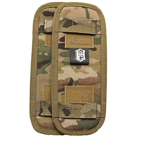 HSGI: WAS/WEE Shoulder Pads for Plate Carriers/Chest Rigs MultiCam