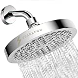 SparkPod Shower Head - High Pressure Rain - Luxury Modern Chrome...