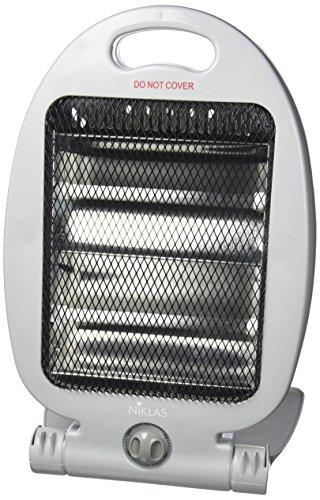 KEKAI 539012 Calefactor Eléctrico, Gris