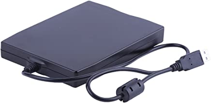 "Dainty 3.5"" External Floppy Disk Reader Drive Portable 1.44MB FDD for PC Windows 98/ME/2000/XP/Vista/Windows 7/8/10,for Mac,General"