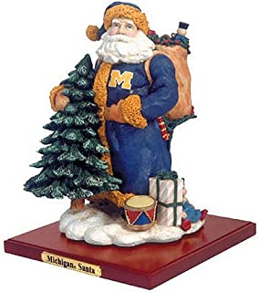 The Memory Company University of Michigan Santa Claus Figurine First in a Limited Series