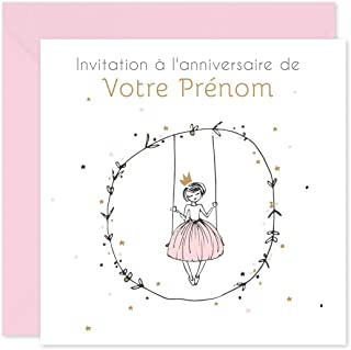 Jeune Amazon.fr : invitation anniversaire fille FD-53