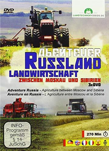Abenteuer Russland - Landwirtschaft zwischen Moskau und Sibirien [3xDVD]