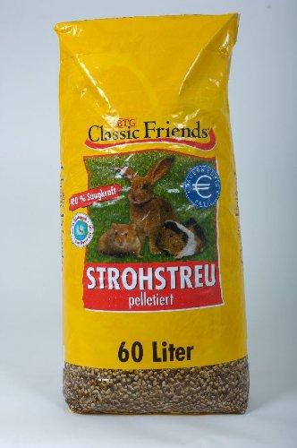 Classic Friends Strohstreu 60ltr 1 X Einheit/Stück