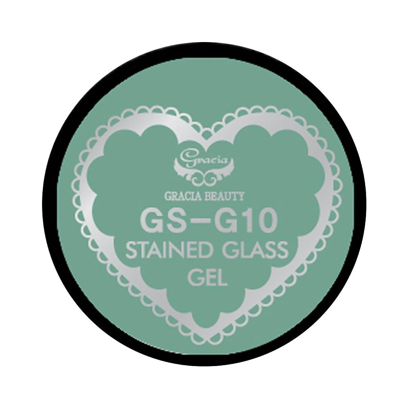 抑止するシンプルさレイアグラシア ジェルネイル ステンドグラスジェル GSM-G10 3g  グリッター UV/LED対応 カラージェル ソークオフジェル ガラスのような透明感