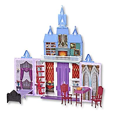 Disney Frozen 2 Fold and Go Portable Arendelle Castle Exclusive Dollhouse Playset