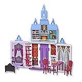 Disney Frozen 2 Fold and Go Portable Arendelle Castle Exclusive Dollhouse Playset