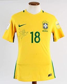 Home Decor Neymar Hulk Signed Autographed Soccer Shirt Jersey Come With Sa Coa Framed Brazil Discounts Price
