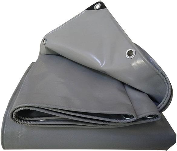 Bache imperméable avec Oeillets métalliques et Bords renforcés pour Toit, Camping, extérieur, Patio, réversible, épaisseur 0,55 mm, 550 g m2, 13 Tailles Disponibles