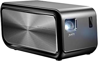 JMGO J6S Native 1080P Full HD 4K Projector with Android, 1100 ANSI lm, Auto Focus, Keystone Correction,DLP, Dolby, 3D, WiFi, Bluetooth Speaker, Smart Home Cinema Video Projector, 300
