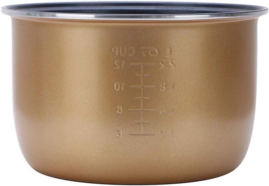 Pot de cuisson intérieur de cuisson intérieur recouvert de coiffeur,5l 3l
