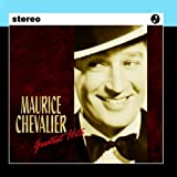 """album cover: """"Maurice Chavalier Greatest Hits"""""""