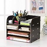 Schreibtisch Organizer Schreibwaren Fernbedienung Groß Schublade Multifunktionale Organizer holz im Büro Schlafzimmer Wohnzimmer fächer Schubladenbox