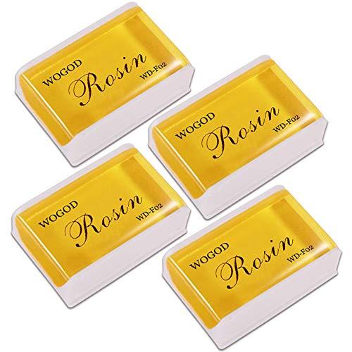Rosin Violin Rosin Natural Rosin 4 Pack Low Dust Universal