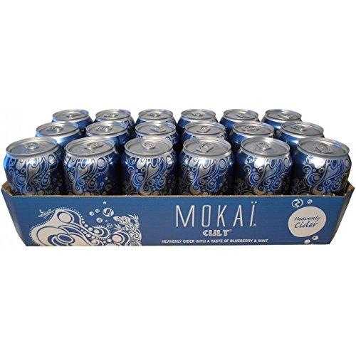 Cult Cider Mokai Blaubeere 4,5% 18X0,33l Tray