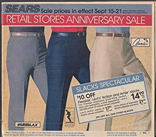 Sears Retail Stores Anniversary Sale Catalog 1985 bicycle tractor lingerie toys