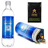 PartyBottle Diversion Safe Bottle Stash Can w/Smell-Proof Stash Bag by HumanFriendly – Ultra-Discrete, Authentic Looking BPA-Free Water Bottle Stash Container Includes Sound-Proof Bag