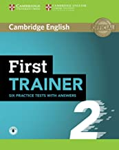 Permalink to First Trainer 2 Six Practice Tests with Answers with Audio [Lingua inglese] PDF