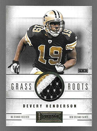 2011 Panini Playbook Grass Weekly update Roots #36 Pr Direct stock discount Color Devery Henderson 3
