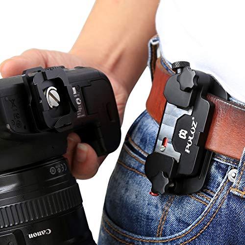 DIGITAL HDClip snelspanner van aluminiumlegering met stijltang voor camera's GoPro verrekijkers enz.