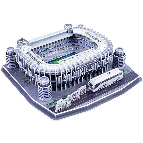 HEMFV DIY Clásico Mundial Modelo arquitectónico, Nanostad Real Madrid Estadio Santiago Bernabéu del Rompecabezas 3D