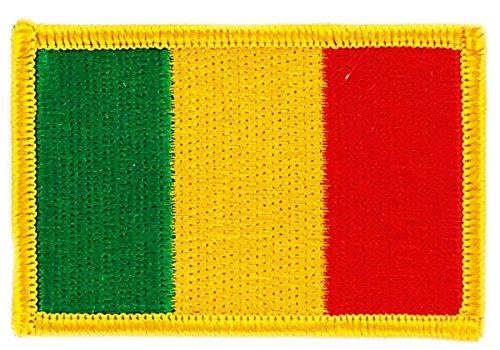 Aufnäher Patch bestickt, Flagge mali malien BW Wappen backpack zum Aufbügeln